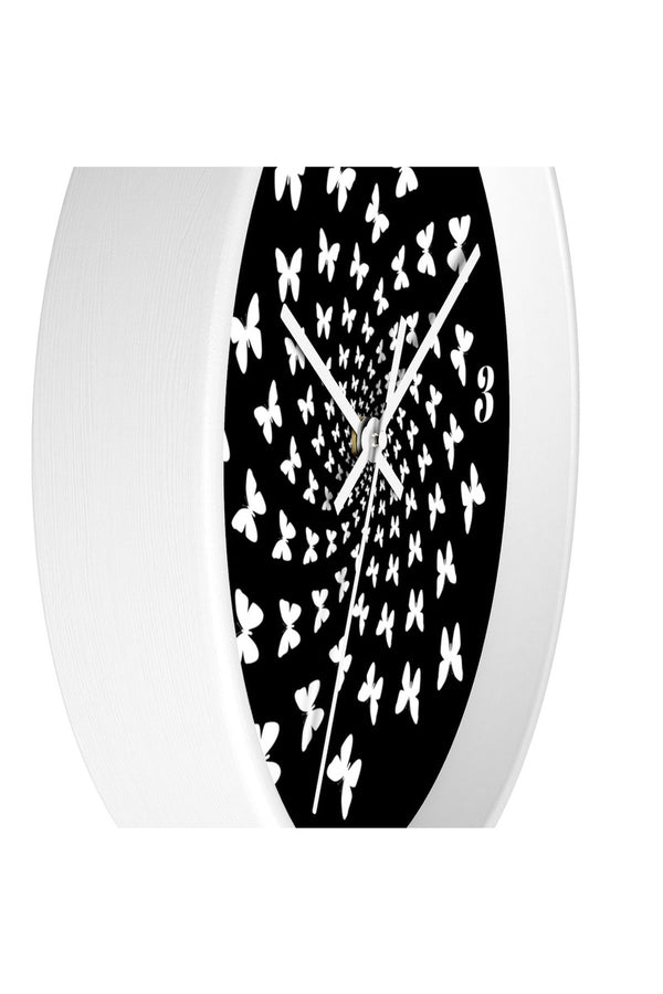 Butterflies Away Wall clock - Objet D'Art Online Retail Store