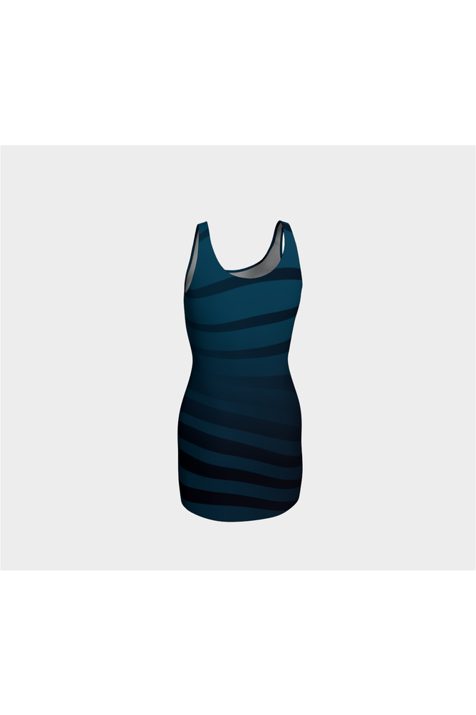 Blue Tiburon Bodycon Dress - Objet D'Art Online Retail Store