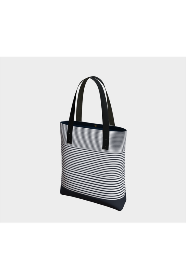 Harmonic Stripes Tote Bag