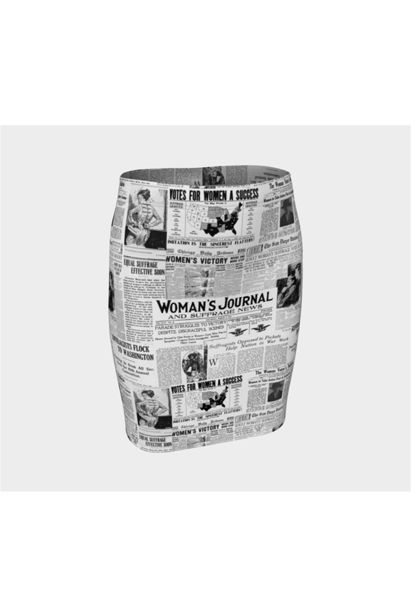 Women's Suffrage Fitted Skirt