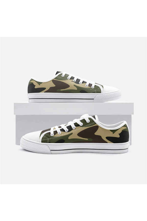 Camouflage Unisex Low Top Canvas Shoes
