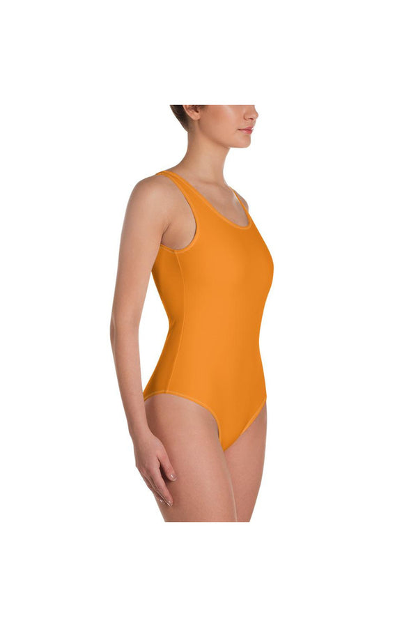 Turmeric One-Piece Swimsuit