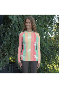 Uni-Rainbow Women's Rash Guard