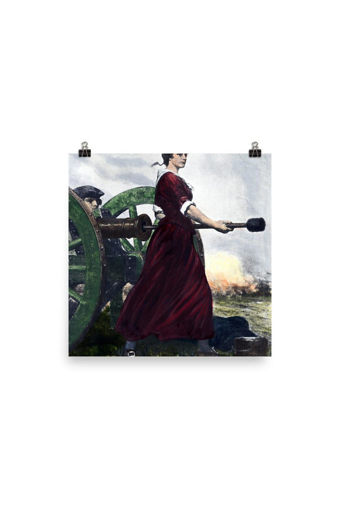 Molly Pitcher Photo paper poster - Objet D'Art Online Retail Store