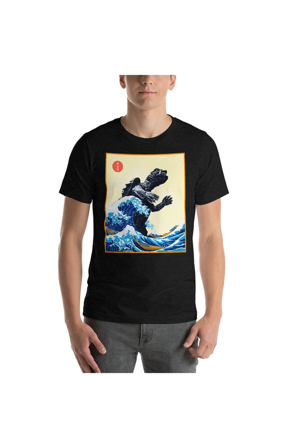 The Gamera Wave off Kanagawa Short-Sleeve Unisex T-Shirt