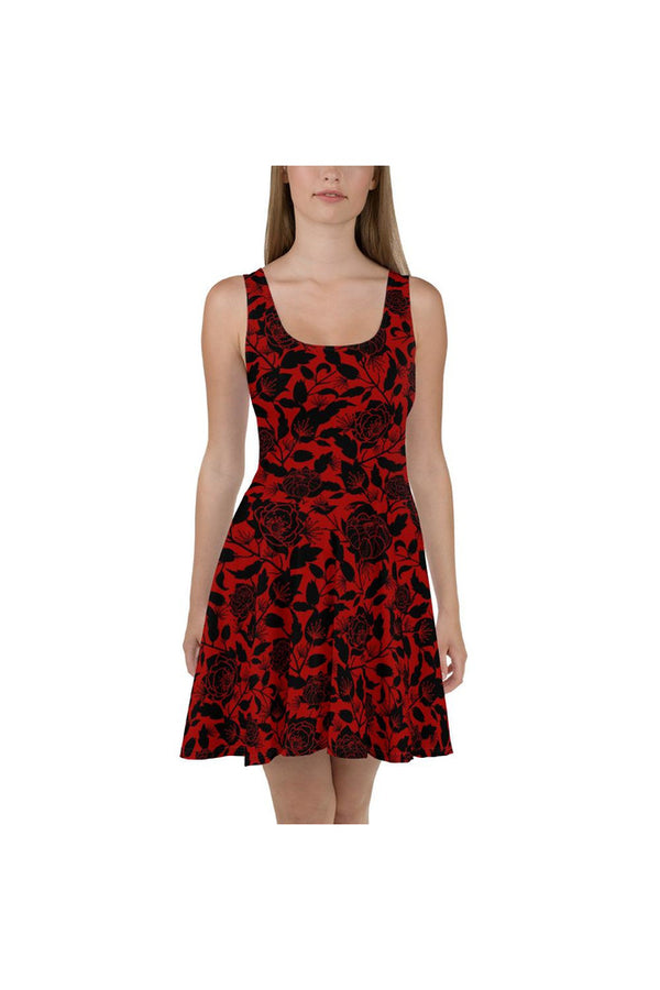 Eastern Essence Skater Dress