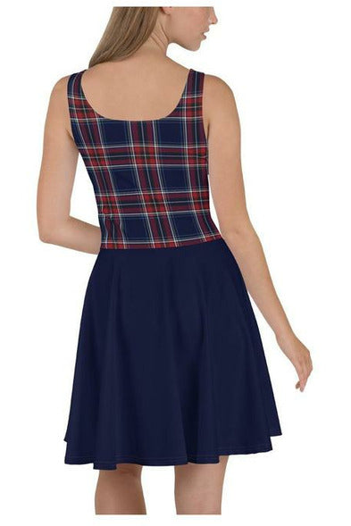 Klipspringer Tartan Skater Dress