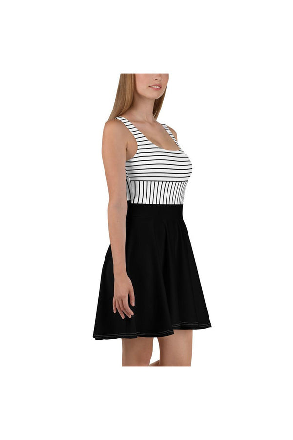 Stripe Strength Skater Dress