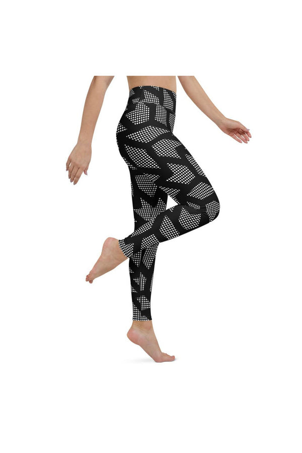 Polka Hot Yoga Leggings