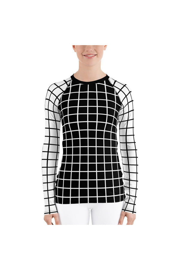 Grid Day Women's Rash Guard