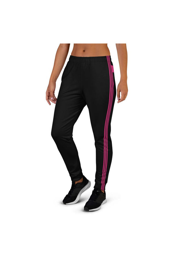Pink Band & Stripes Women's Joggers