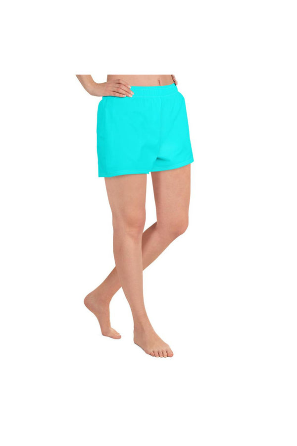 Neon Bright Women's Athletic Short Shorts