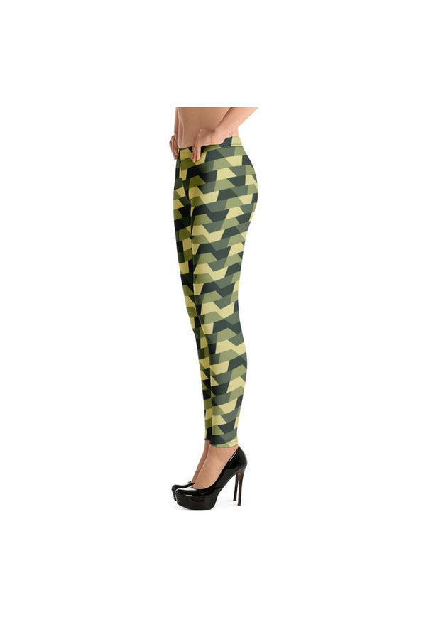 Camo Ribbons Leggings - Objet D'Art Online Retail Store