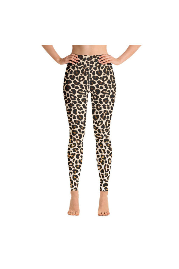 Leopard Print Yoga Leggings