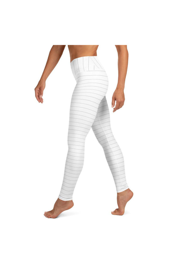 Micro Stripe Yoga Leggings