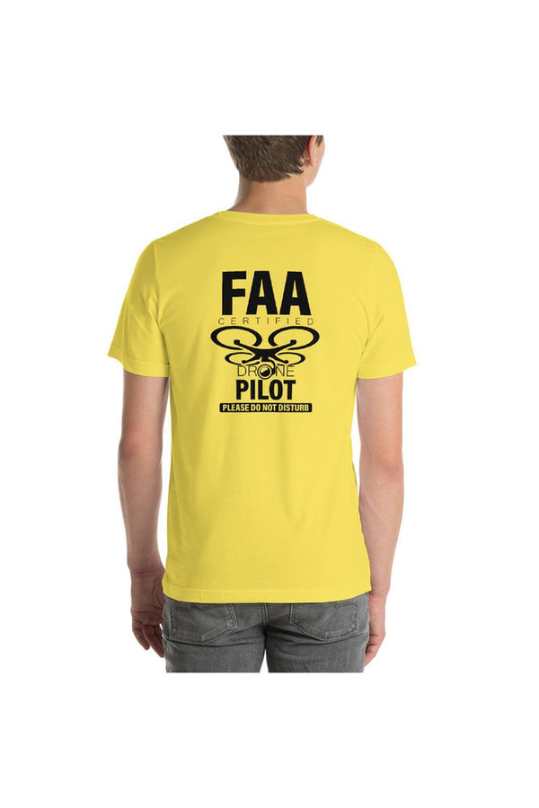 FAA Certified Remote Pilot Short-Sleeve Unisex T-Shirt