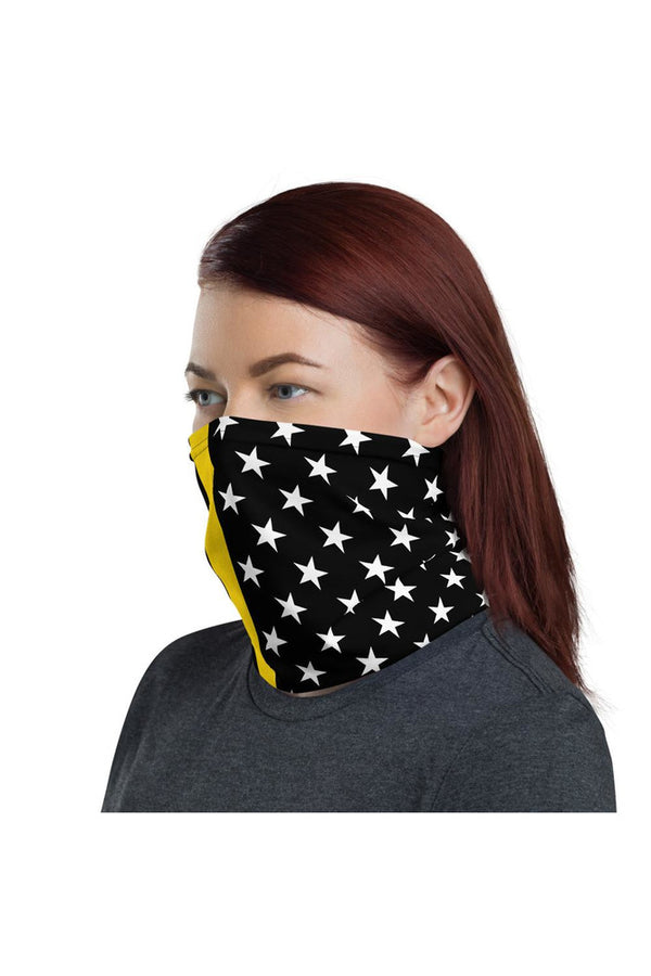 Thin Gold Line Neck gaiter