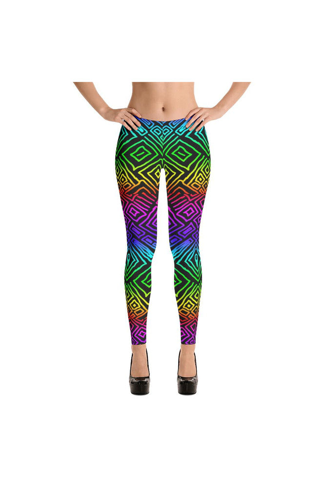 Tribal Rainbow Leggings