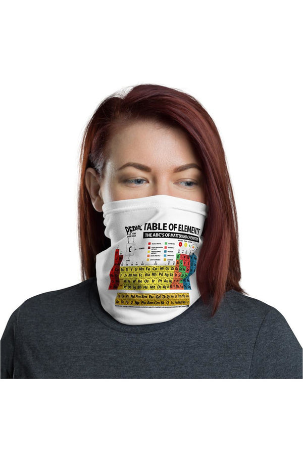 Periodic Table Neck gaiter