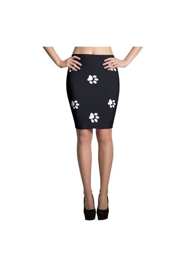 Paws Pencil Skirt