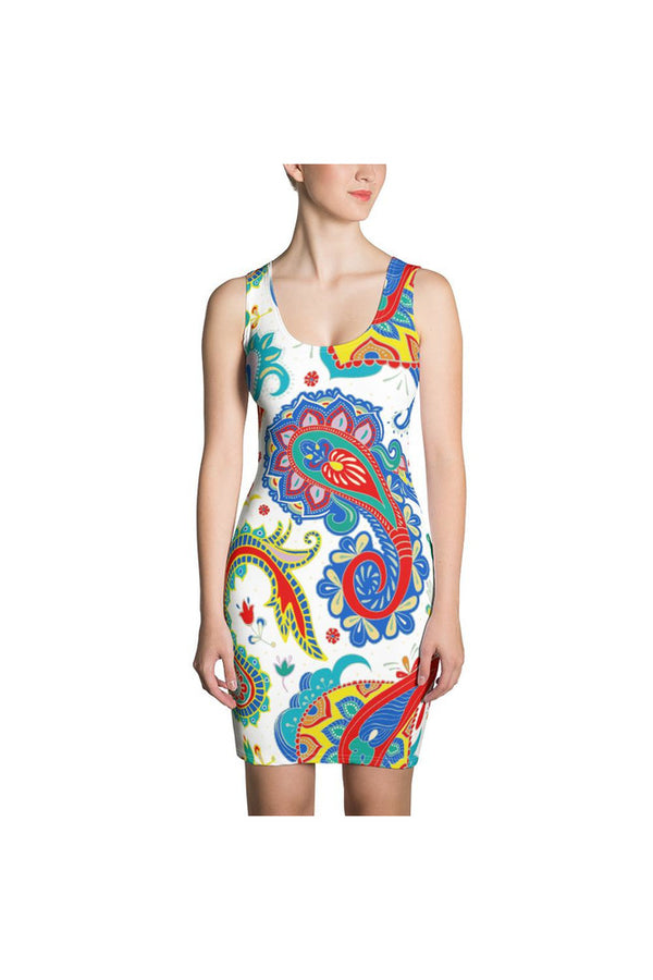 Paisley Princress Sublimation Dress