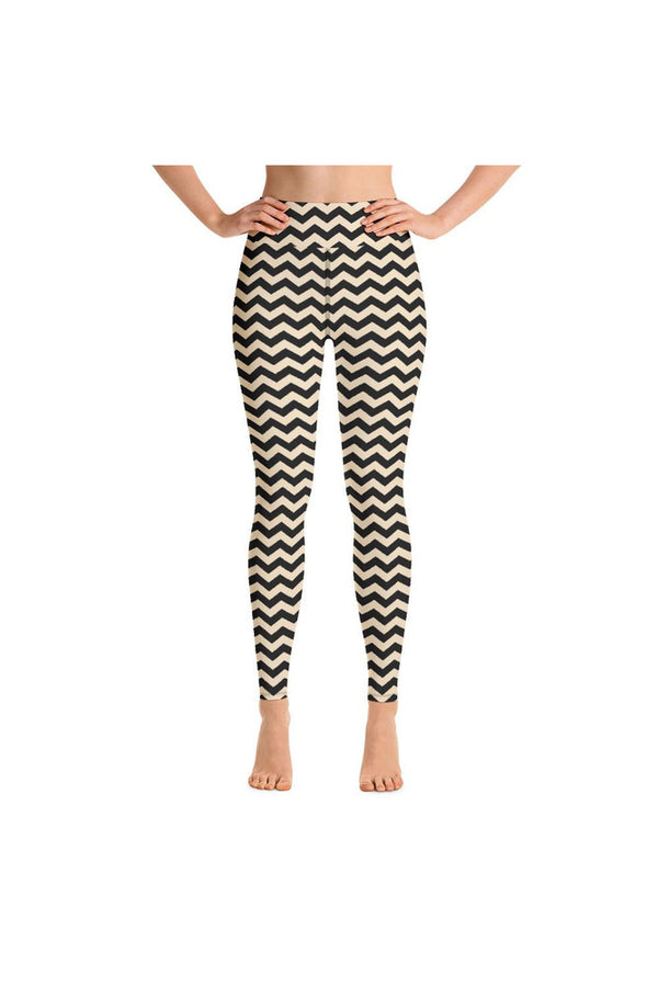 Zig Zag Zone Yoga Leggings