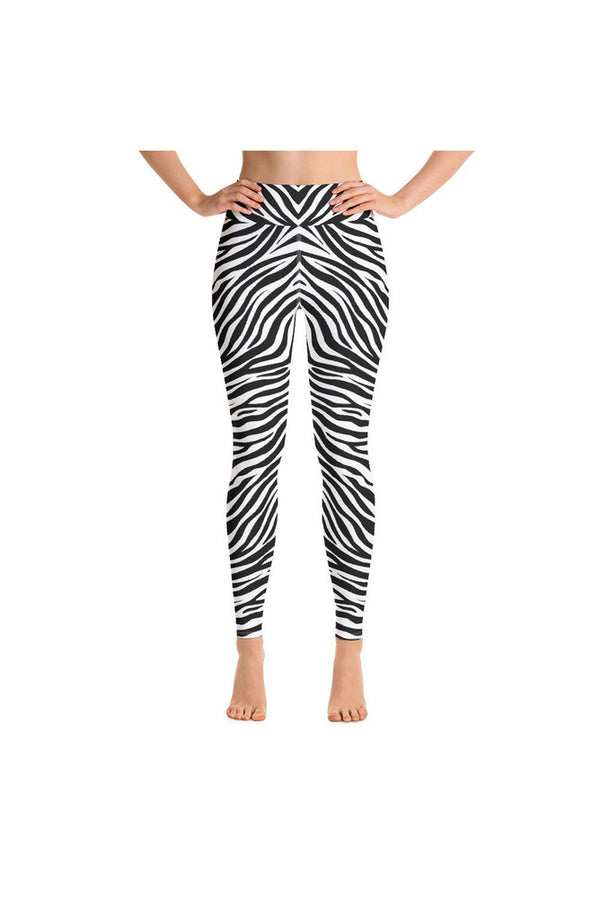 Zebra Print Yoga Leggings