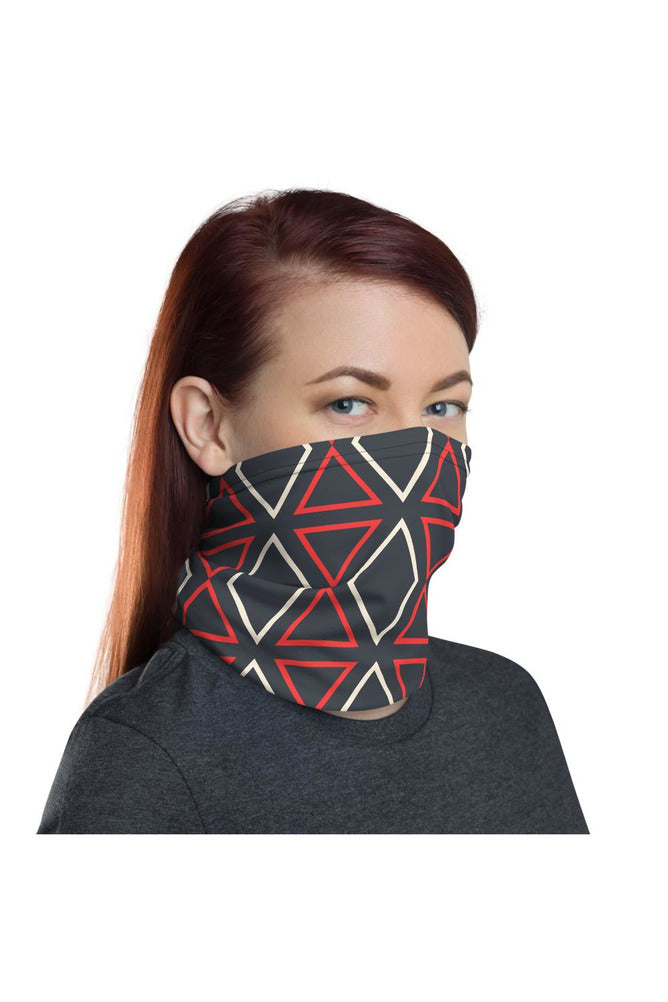 Geometric Neck gaiter