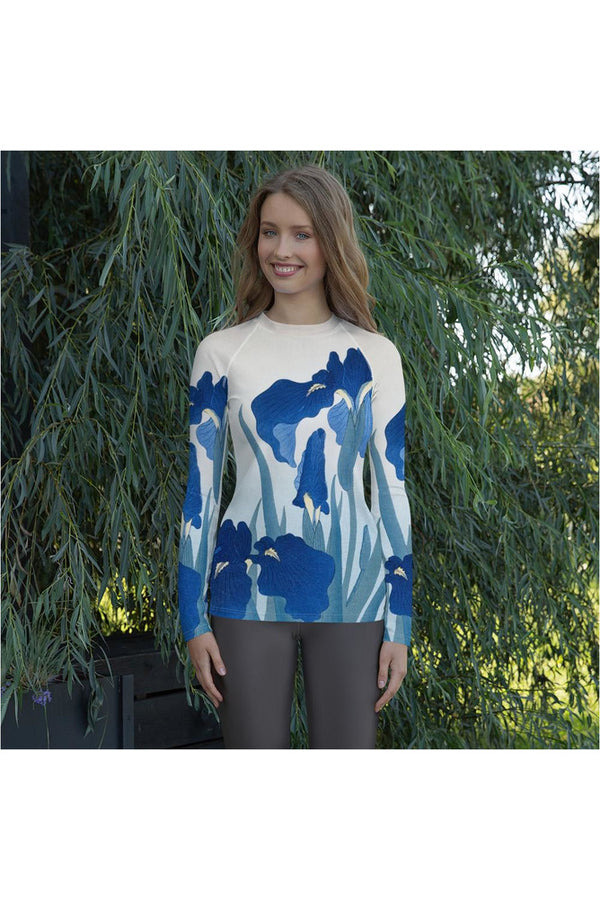 Blue Iris Women's Rash Guard