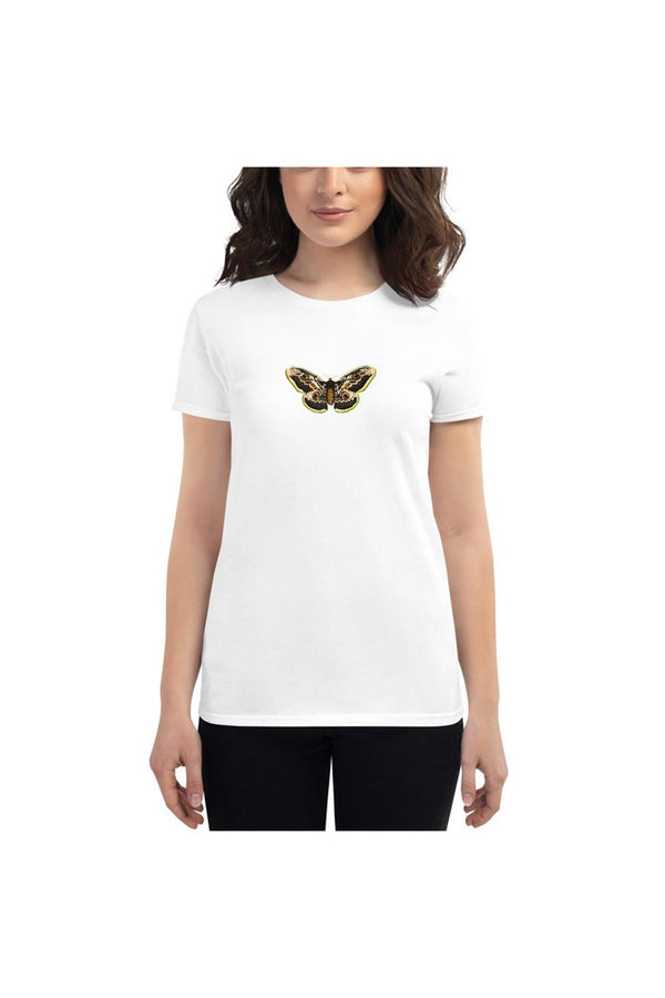 Great peacock moth Women's short sleeve t-shirt