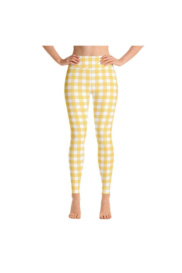 Gingham Yoga Leggings