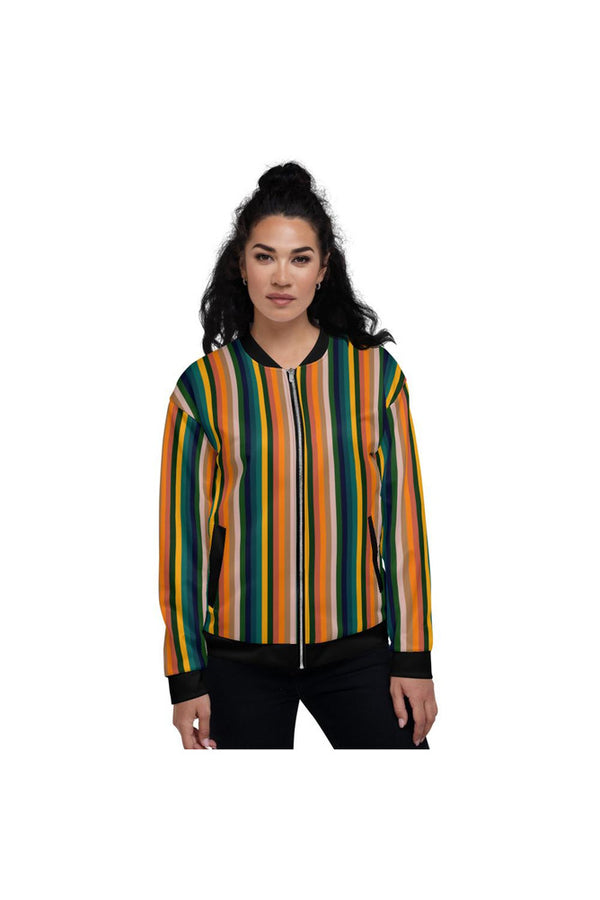 Tropical Breeze Unisex Bomber Jacket
