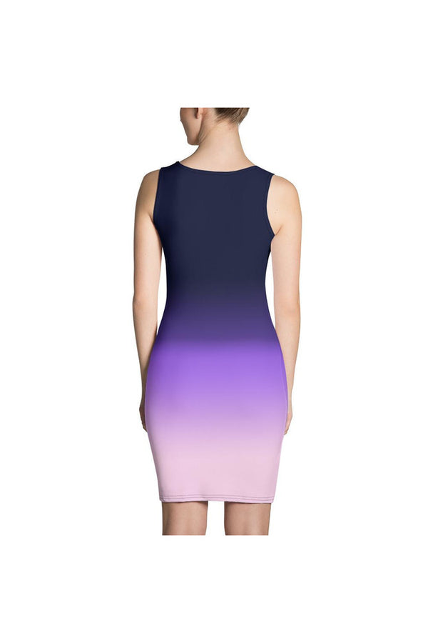 Lavender Ombre Sublimation Dress