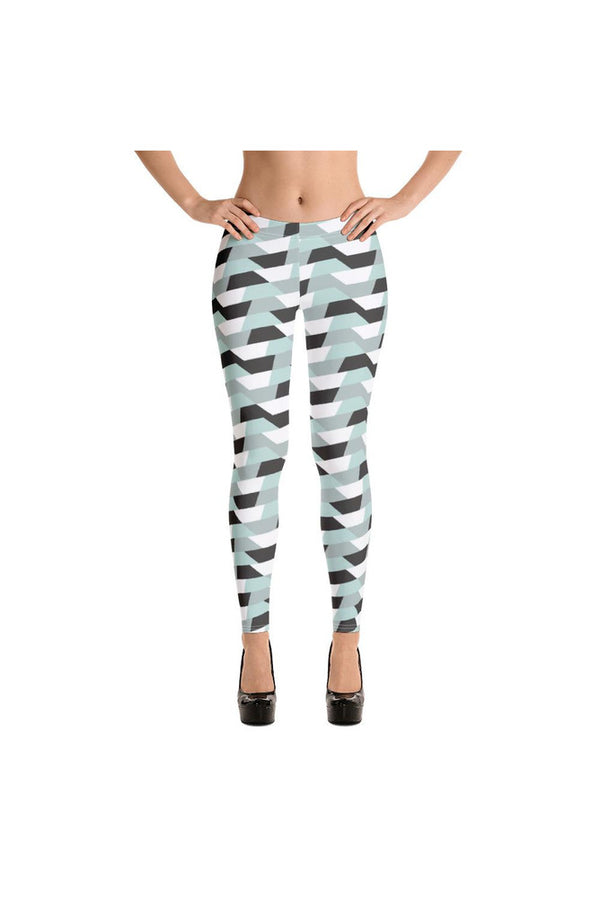 Gray Fox Ribbon Leggings - Objet D'Art Online Retail Store
