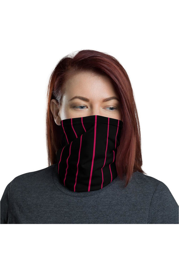 Hot Pink Striped Neck gaiter