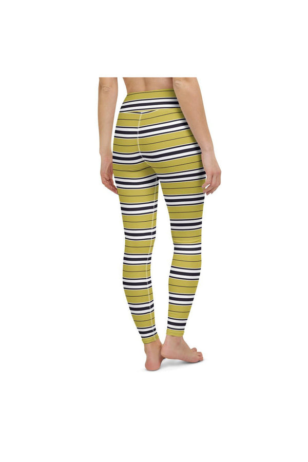 Monarch Butterfly Caterpillar Yoga Leggings