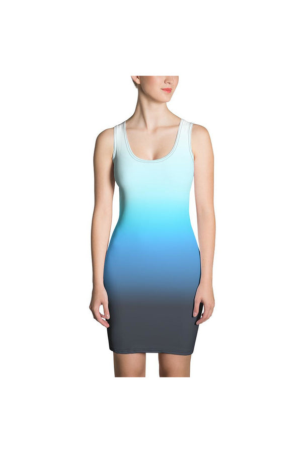 Klipspringer Ombré Sublimation Cut & Sew Dress