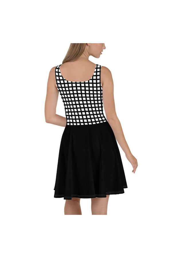 Square Biz Skater Dress