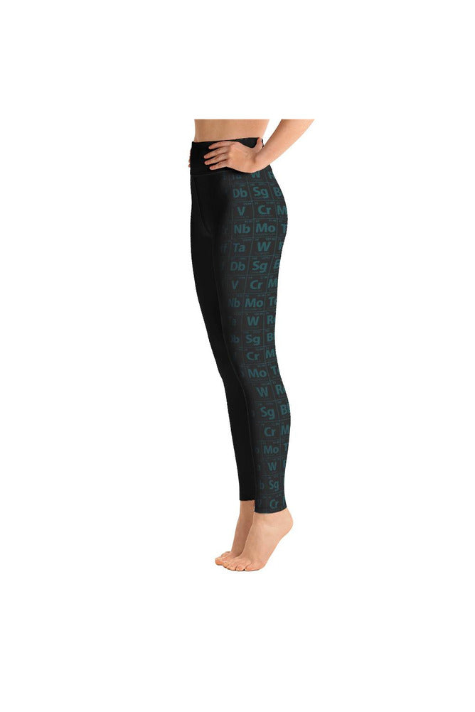 Jade & Black Yoga Leggings