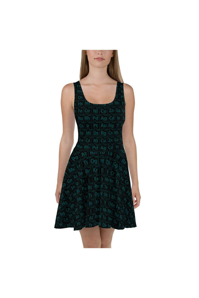 Jade & Black Skater Dress