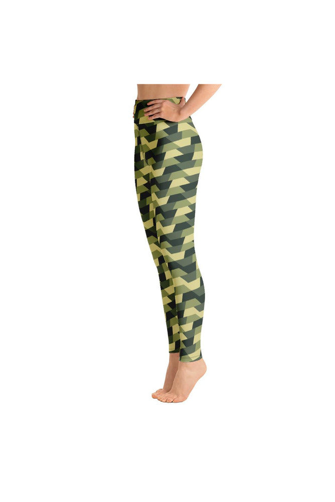 Woodland Camouflage Yoga Leggings