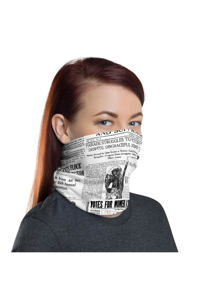 Women's Suffrage Neck gaiter