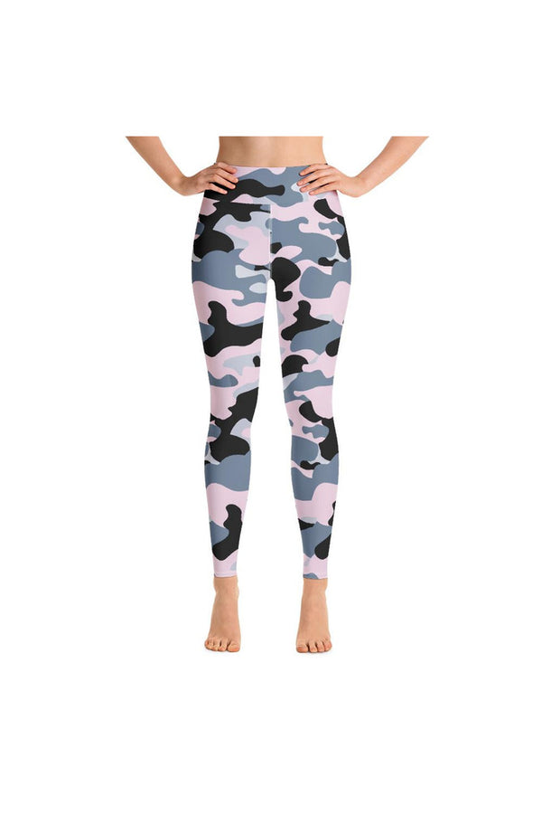 Pink Camo Yoga Leggings