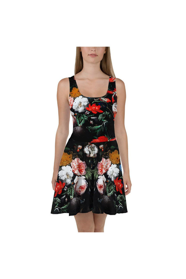 The Overturned Bourquet Skater Dress