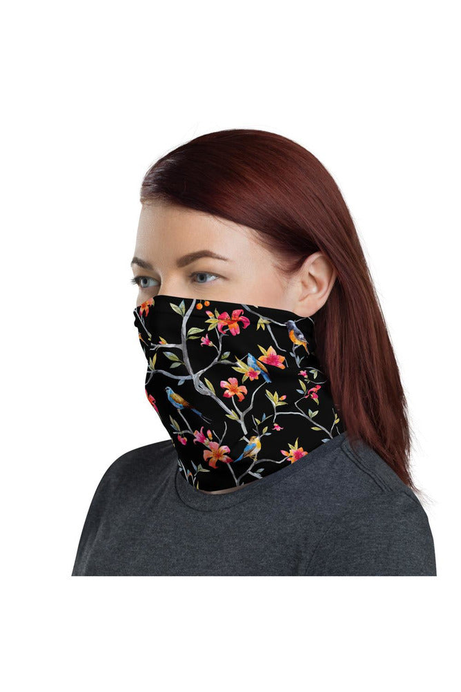 Finches at Midnight Neck gaiter
