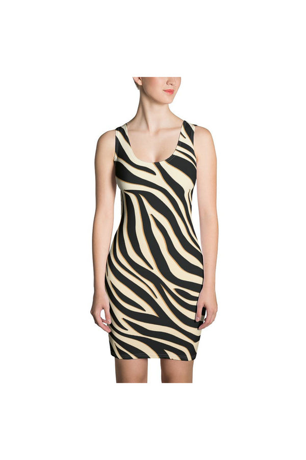 Zebra Print Sublimation Dress
