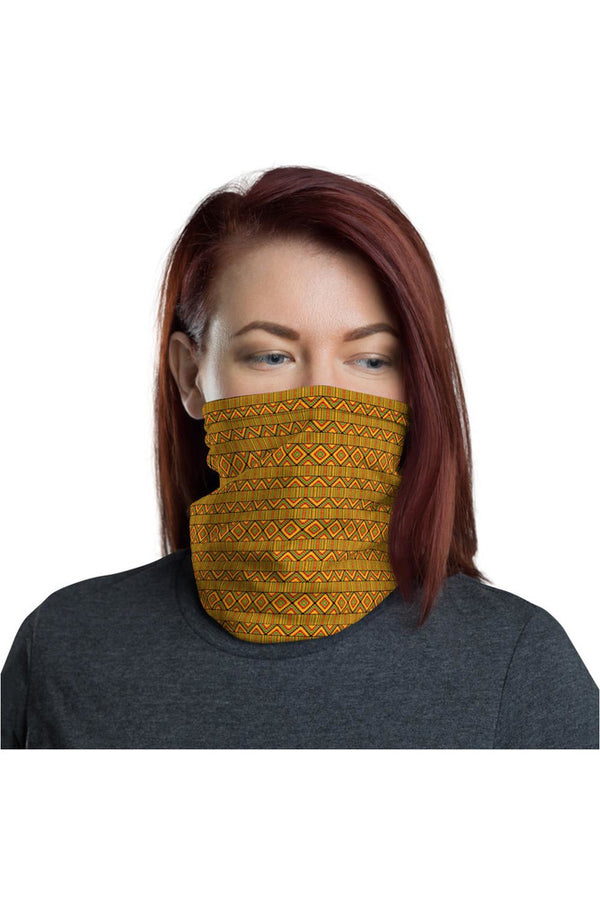 Kente Print Neck gaiter