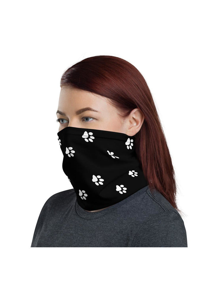 Paw Prints Neck gaiter