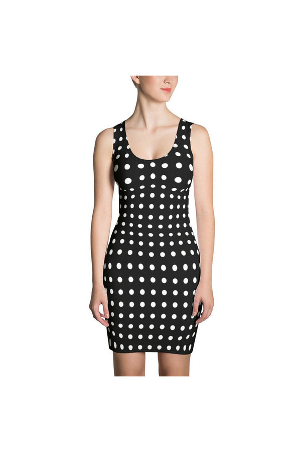 Polka-dot Sublimation Dress