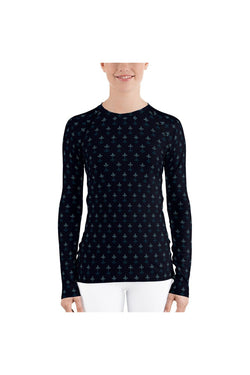 Poppy Bud All-Over Print Women's Rash Guard